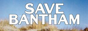 Save Bantham campaign logo